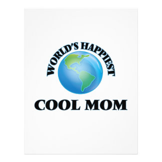 World's Happiest Cool Mom 21.5 Cm X 28 Cm Flyer