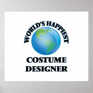 World's Happiest Costume Designer Poster