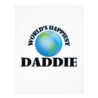 World's Happiest Daddie 21.5 Cm X 28 Cm Flyer