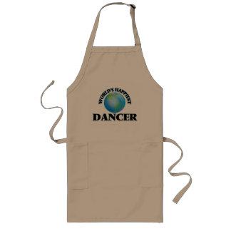 World's Happiest Dancer Long Apron