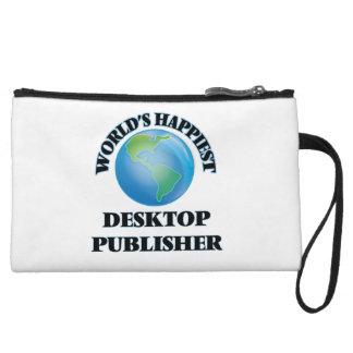 World's Happiest Desktop Publisher Wristlets