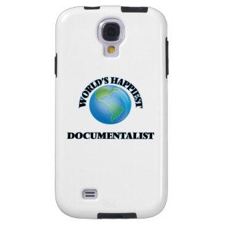 World's Happiest Documentalist Galaxy S4 Case