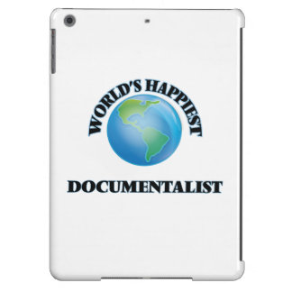 World's Happiest Documentalist iPad Air Cover