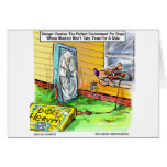 World's Happiest Dog Funny Gifts Tees Mugs Etc Greeting Card