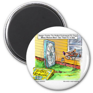 Worlds Happiest Dog Funny Tees Mugs & Gifts Refrigerator Magnets