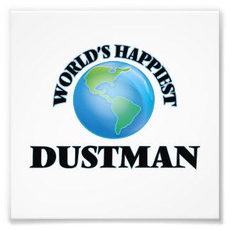 World's Happiest Dustman Photo Art