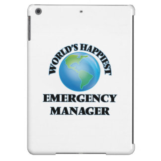 World's Happiest Emergency Manager iPad Air Case
