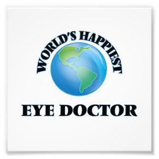World's Happiest Eye Doctor Photo Print