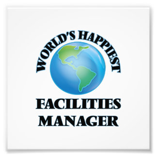 World's Happiest Facilities Manager Photograph