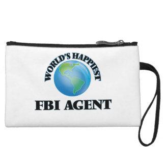 World's Happiest Fbi Agent Wristlet