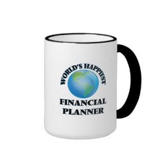 World's Happiest Financial Planner Ringer Mug