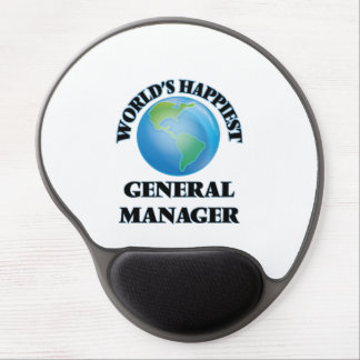 World's Happiest General Manager Gel Mouse Pad