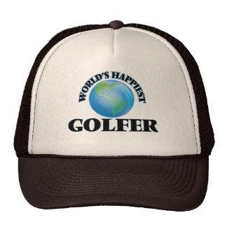 World's Happiest Golfer Trucker Hat