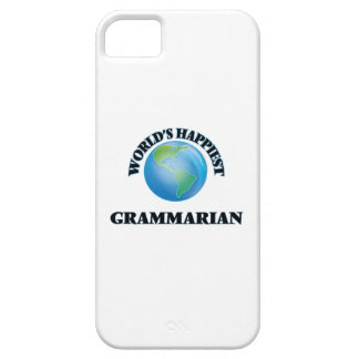 World's Happiest Grammarian Barely There iPhone 5 Case