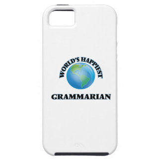 World's Happiest Grammarian iPhone 5 Cover