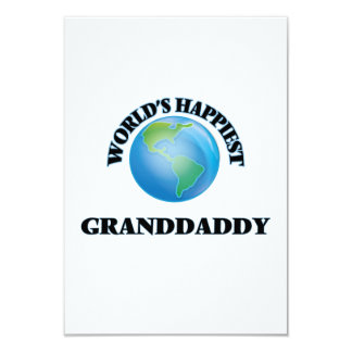World's Happiest Granddaddy Card