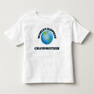 World's Happiest Grandmother Toddler T-Shirt