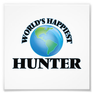 World's Happiest Hunter Photo Art