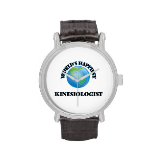 World's Happiest Kinesiologist Wrist Watches