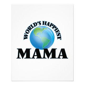 World's Happiest Mama 11.5 Cm X 14 Cm Flyer