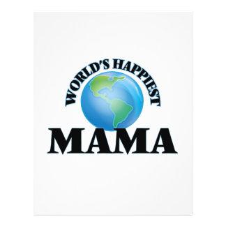 World's Happiest Mama 21.5 Cm X 28 Cm Flyer
