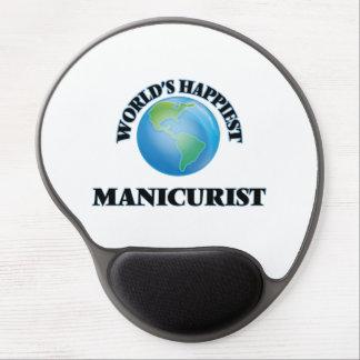 World's Happiest Manicurist Gel Mouse Pad