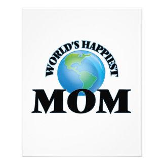World's Happiest Mom 11.5 Cm X 14 Cm Flyer