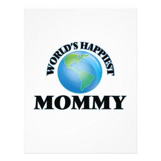 World's Happiest Mommy 21.5 Cm X 28 Cm Flyer