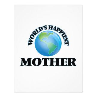 World's Happiest Mother 21.5 Cm X 28 Cm Flyer