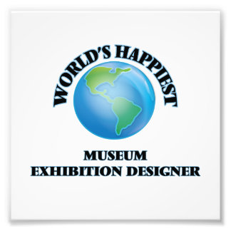 World's Happiest Museum Exhibition Designer Photo Art