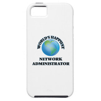 World's Happiest Network Administrator Tough iPhone 5 Case