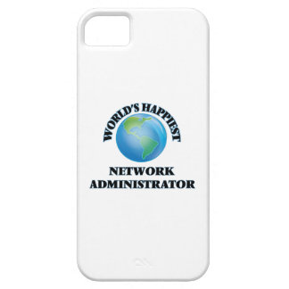 World's Happiest Network Administrator iPhone 5 Cases