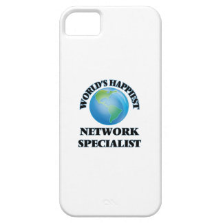 World's Happiest Network Specialist iPhone 5 Covers