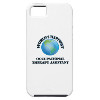 World's Happiest Occupational Therapy Assistant iPhone 5 Cases