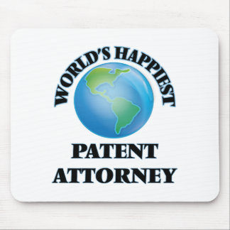 World's Happiest Patent Attorney Mouse Pad