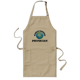 World's Happiest Physician Long Apron