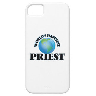 World's Happiest Priest iPhone 5 Covers