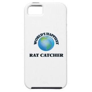 World's Happiest Rat Catcher iPhone 5 Case