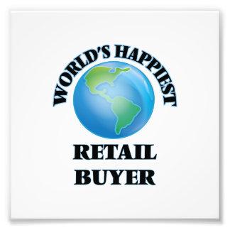 World's Happiest Retail Buyer Photograph