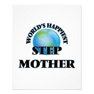World's Happiest Step-Mother 11.5 Cm X 14 Cm Flyer