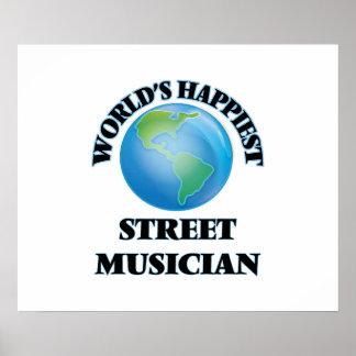 World's Happiest Street Musician Poster