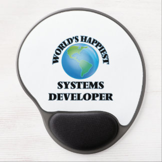 World's Happiest Systems Developer Gel Mouse Pad