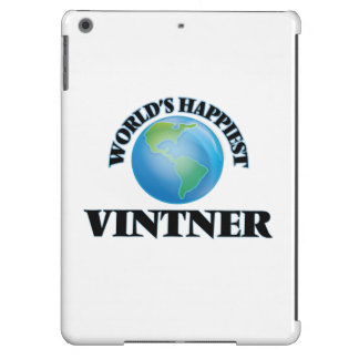 World's Happiest Vintner iPad Air Covers