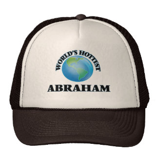World's Hottest Abraham Trucker Hat