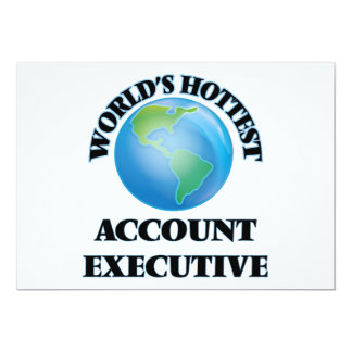 World's Hottest Account Executive Announcements