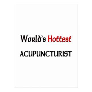 Worlds Hottest Acupuncturist Post Cards