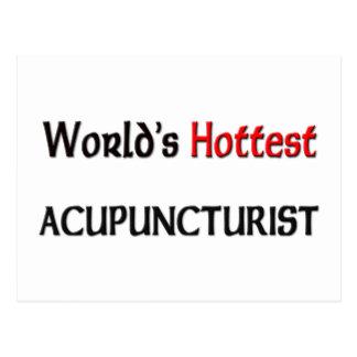 Worlds Hottest Acupuncturist Postcard
