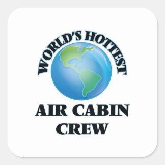 World's Hottest Air Cabin Crew Stickers
