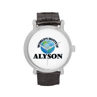 World's Hottest Alyson Watches