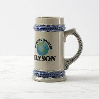 World's Hottest Alyson Coffee Mugs